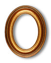 Golden Oval Frame Royalty Free Stock Photography - 29543047