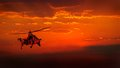Military Helicopter Royalty Free Stock Photography - 29547857