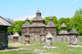 A Typical Ukrainian Antique Orthodox Church Royalty Free Stock Photography - 29553257