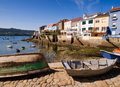 Wooden Boats In A Fishing Village Royalty Free Stock Photos - 29558588