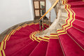 Red Carpet. Stairwell In The Polish Palace. Royal Castle In Warsaw. Stock Photography - 29559112