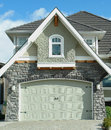 House Exterior Detail Garage Royalty Free Stock Image - 29566336