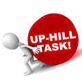 Up Hill Task Royalty Free Stock Images - 29574589