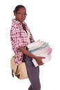 College Student Young African American Stock Images - 29583104
