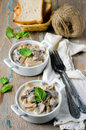 Mushrooms Stewed With Cream Royalty Free Stock Images - 29595689