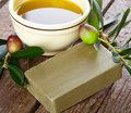 Aleppo Soap And Olives Royalty Free Stock Photos - 29597868
