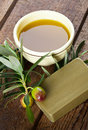 Aleppo Soap And Olives Royalty Free Stock Photography - 29597977