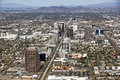 Skyline Of MidTown Phoenix Stock Images - 29605264