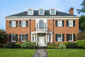 Classic Colonial Brick House Stock Photo - 29606920