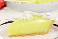 Macro Key Lime Pie Stock Images - 29607684