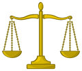 Cartoon Scales Of Justice Royalty Free Stock Photos - 29611388