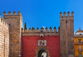 Gates To Real Alcazar Gardens In Seville Spain Stock Photography - 29612122