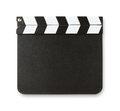 Blank Clapboard With Copy Space Royalty Free Stock Photo - 29616145