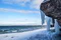 Icy Cliffs Stock Photo - 29617020