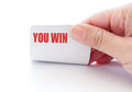 You Win Stock Photography - 29630462