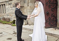 Bride And Groom First Look Stock Images - 29643034