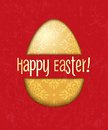 Vector Easter Egg Card Royalty Free Stock Photography - 29652727