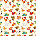 Seamless Bird Pattern Stock Photo - 29661870
