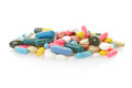 Pill And Colorful Medical Capsules Stock Photo - 29672150