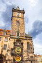 Tower With Astronomical Clock In Prague Royalty Free Stock Photography - 29678487