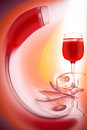 Glass Of Red Wine Royalty Free Stock Image - 29685436