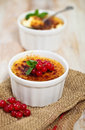 Creme Brulee (cream Brulee, Burnt Cream) Royalty Free Stock Images - 29696069