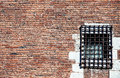 Prison Red Brick Wall Royalty Free Stock Image - 29705266