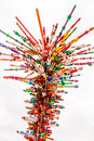 Plastic Storm Sculpture By George Sabra Royalty Free Stock Photos - 29715348