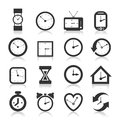 Hours An Icon Royalty Free Stock Images - 29725119