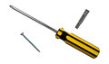 Screwdriver And Screw Stock Images - 29727044