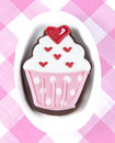 Sweet Cupcake Cookie Stock Photo - 29730240