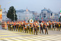 Orchestra Of Armed Forces Of Jordan March Royalty Free Stock Photo - 29733915