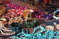 Jewelry Necklaces And Vintage Bracelets For Sale At Market Stock Images - 29734204