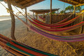 Colorful Beach Hammocks Royalty Free Stock Photo - 29738665
