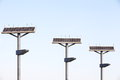 Street Lamp With Solar Panel Royalty Free Stock Image - 29744526