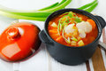 Fish Soup With  Vegetables Royalty Free Stock Images - 29751639