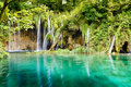 Waterfall In Deep Forest, Croatia Royalty Free Stock Photography - 29754537