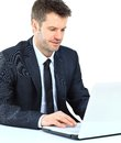 Portrait Of Young Confident Business Man Stock Photo - 29756420