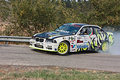 Drift Racing Car BMW Royalty Free Stock Photo - 29757165