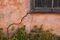 Old Stucco House With Cracked Wall Stock Photography - 29761772