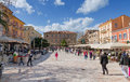 Plateia Syntagmatos (Constitution Square), Nafplio, Greece Royalty Free Stock Photography - 29771827
