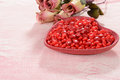 Valentines Candy With Roses Royalty Free Stock Photo - 29772715