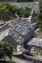 Grey Stone Roofs Stock Image - 29777231
