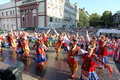 Odessa August 24: Men In Traditional Costumes At The Festival Na Stock Photos - 29797243