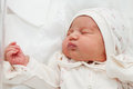 Newborn Girl In The Maternity Hospital Stock Image - 29802271