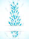 Abstract Background With Blue Arrows Stock Photography - 29805152