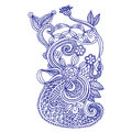 Neckline Embroidery Design Stock Images - 29806724