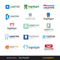Tooth Logo Set Royalty Free Stock Photography - 29808527