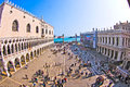 Tourists On San Marco Square In Venice, Italy Royalty Free Stock Photos - 29821308