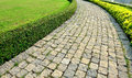 Path And Lawn Royalty Free Stock Photography - 29828457